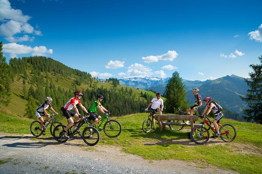 Mountainbiken Sommer Grossarltal